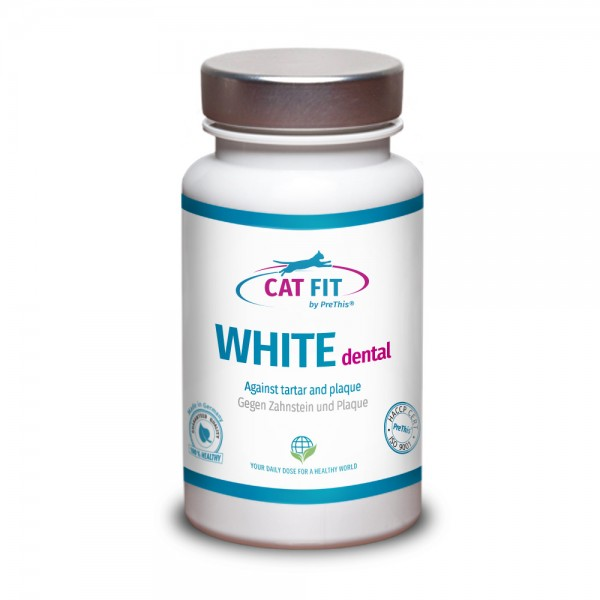 CAT FIT by PreThis® WHITE dental - Gegen Zahnstein